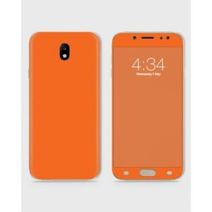 Samsung J720 J7 2017 Skin Wrap  In Orange Color-1wall18-1wall18-8