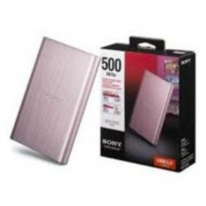 HD-EG5 - External Hard Drive - 500GB - Rose Pink