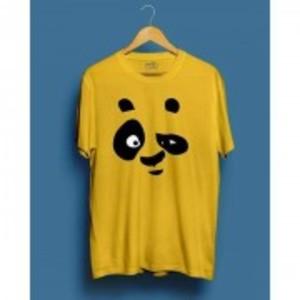 Yellow Panda Printed T.shirt-ON1622S