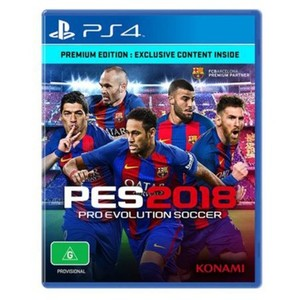 Pes 2018-PS4 Game