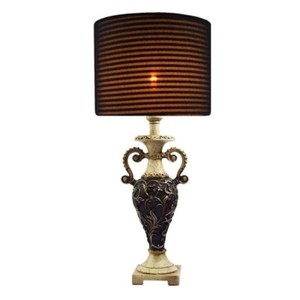 Puff Table Lamp-Black-WTBL-037