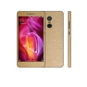 Xiaomi Redmi Note 4 3M Golden Brushed Metal Texture Skin-DT5155