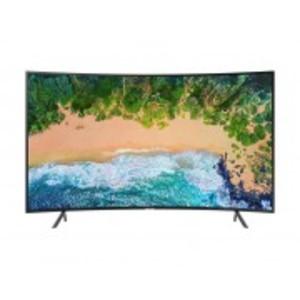 "Samsung 49"" UHD 4K Curved Smart LED TV Series 7 - 49NU7300 - Black"