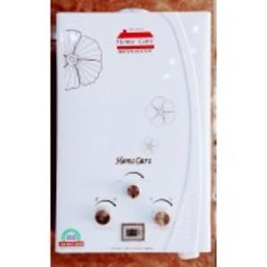 6 LITER Instant Water Geyser Gas -Zero Operating Water Pressure  - White