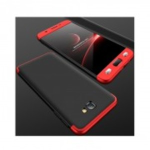 360 Protective Case For Samsung J7 Max - Red & Black