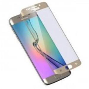 4D Curve Full Screen Glass for Samsung S6 Edge-Curve Edge-0.3mm-Golden