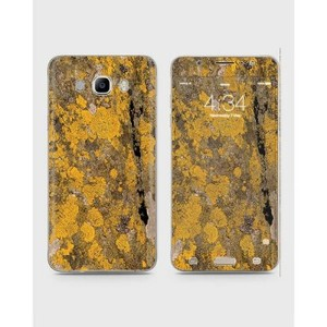 Samsung Galaxy J7 2016 (J710) Skin Wrap Yellow Wood-1Wall4-1wall4-64