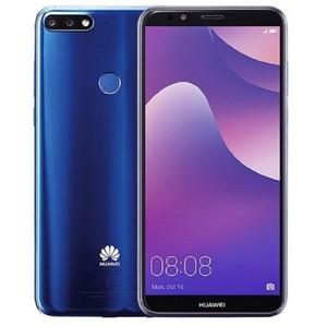 """Huawei Y7 Prime 2018 - 5.99"""" HD+ - 3GB RAM + 32GB ROM - 13/2/8 MP Camera - Face Unlock - Blue"""