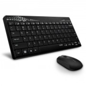 Rapoo 8000 Wireless Keyboard and Mouse Combo (Black)