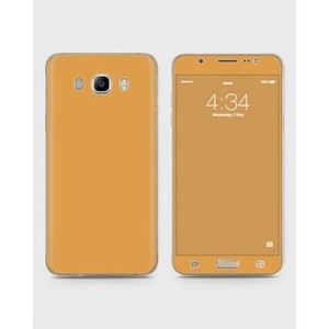 Samsung Galaxy J5 2015 (J510) Skin Wrap in Brown Color-1wall17-63
