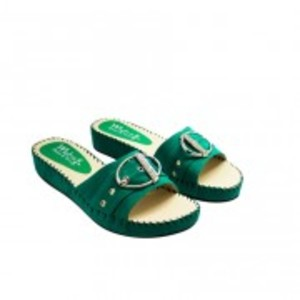 Metro Shoes and Bags Casual Slippers For Women BS-0030 Green