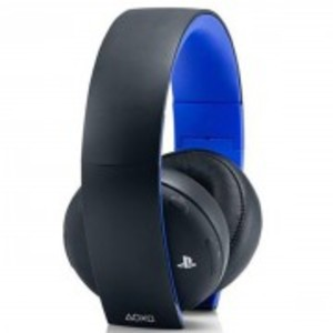 Gold Wireless Gaming Headset-Playstation 4-Black & Blue