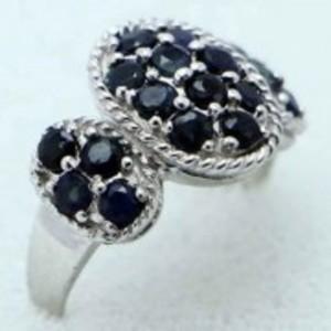 Sapphire Stone Ring -Multicolor-GB1899