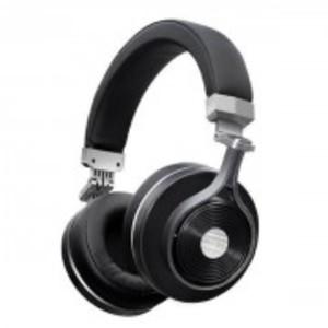 T3 Plus - 3D Sound 3Rd Generation Bluetooth Alloy Headphones - Black