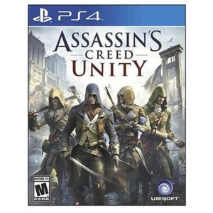 PLAYSTATION 4 DVD ASSASSIN CREED UNITY PS4 GAME