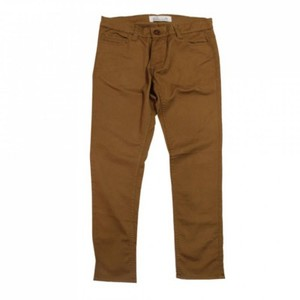 SUITBLANCO Straight Fit Cotton Camel Brown Chino