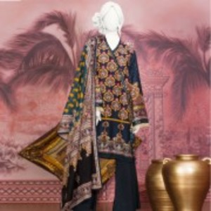 Unstitched 3pcs Eid ul Fiter Collection 2018-JLAWN-S-18-150/A Roomi