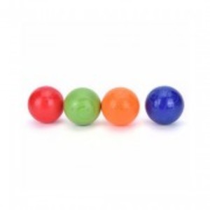 Pack of 12-Multi-Colored Foam Bouncing Balls