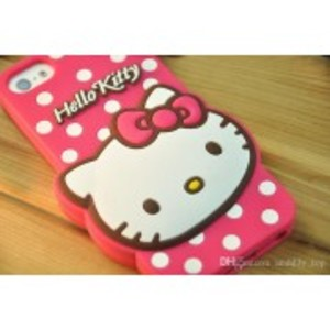 Back Pouch/Case IPhone 6/6s - Hello Kitty