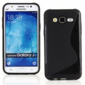 S-Line TPU Case for Samsung Galaxy J7-Black
