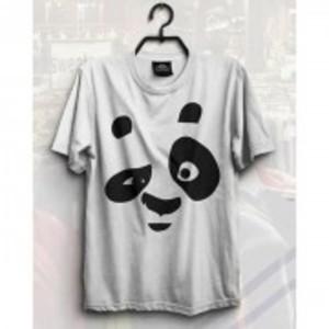 Grey Dub Panda Short Sleeve T-Shirt IF-8001