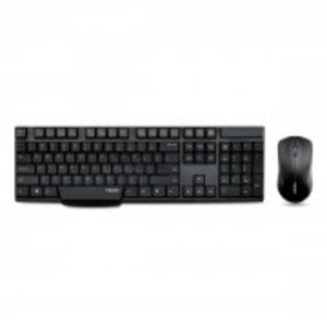 Rapoo 1830 Wireless Keyboard and Mouse Combo (Black)