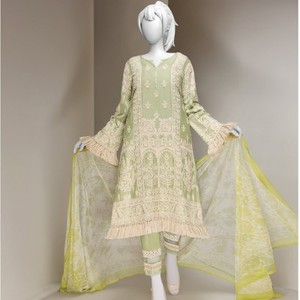 3 Pcs Unstitched Rosemary Lawn Vol. 1 Collection Suit-JLAWN-S-18-061