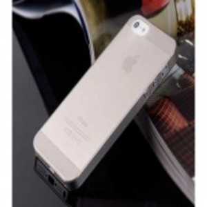 Ultra Thin 0.33mm Hard Back Case for Apple iPhone 5, 5s-Grey