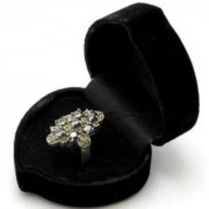 Sapphire Stone Silver Ring GB(5)4408