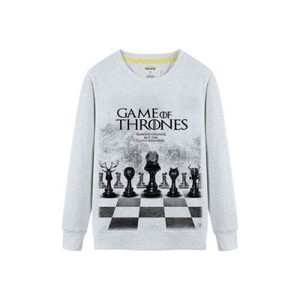 Ace-Grey Game of Throne Fleece Sweat Shirt-AceS-002