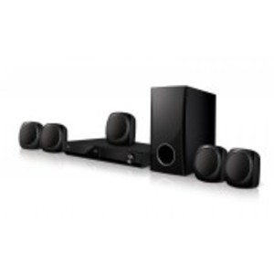 LHD427 - 5.1Ch - DVD Home Theatre System - Black