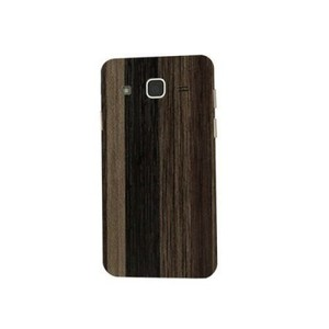 Samsung Galaxy J7 2015 Brown Wooden Texture Skin-Back & Sides-DT2279B