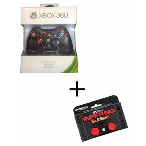 Microsoft Xbox Wireless Controller For Xbox360 Plus Analog Extender