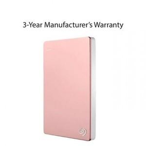Seagate 2TB Backup Plus Slim Portable External Hard Drive - Rose Gold