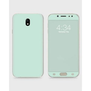 Samsung J720 J7 2017 Skin Wrap  in Light Turquoise-1Wall19-1wall19-8