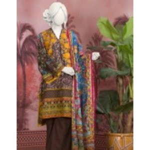 Unstitched 3pcs Eid ul Fiter Collection 2018-JLAWN-S-18-160 Indian Vault
