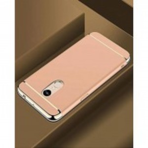 Xiaomi Redmi 5 Plus Anti Shock Case - 3 Piece - Golden