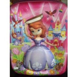 Doll 3D-Cartoon Character School Bag - small size for montessori/kindergarten level