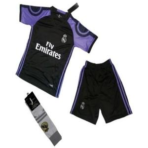 FC Black Club football Kit-XL