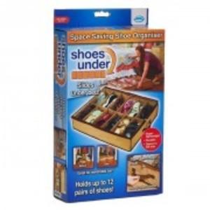 Under Bed Shoes Organizer-Brown-3222