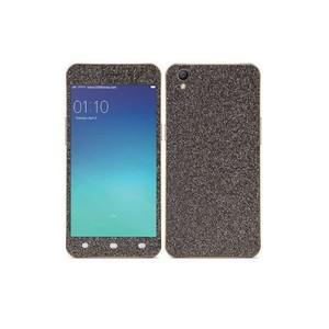 Oppo A37 Black Glitter Skin-DT6791