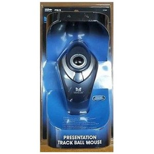 Manhattan Presentation USB Track Ball Mouse, Wireless with Laser Pointer