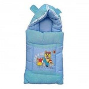 Zm Baby Soft & Warm Sleeping Bag-Blue