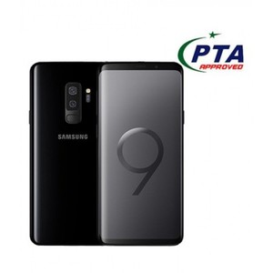"Samsung Galaxy S9+ - 6.2"" - 6GB RAM + 64GB ROM - Fingerprint Sensor - Midnight Black"