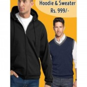 Pack Of 2 Hoodies And Sweater