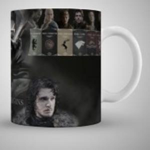 Heroes Game Of Thrones Art Printed Mug