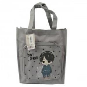 Fashion School Bag 2837d - Gray