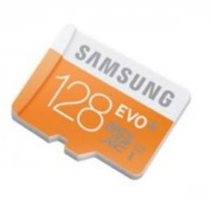 128 GB Micro SD Class 10 memory card - Orange