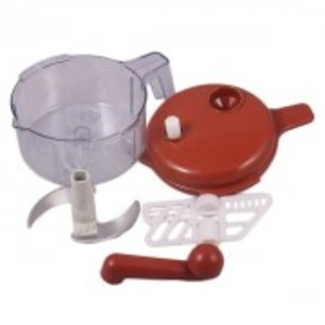 Hand Chopper and Blender With Bowl