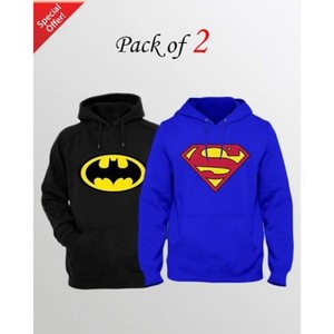 Pack Of 2 Printed Hoodies For Men-ABZ-2536